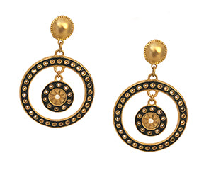 DeSoleil Earring with Enamel