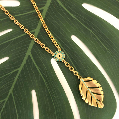 HOJA NECKLACE