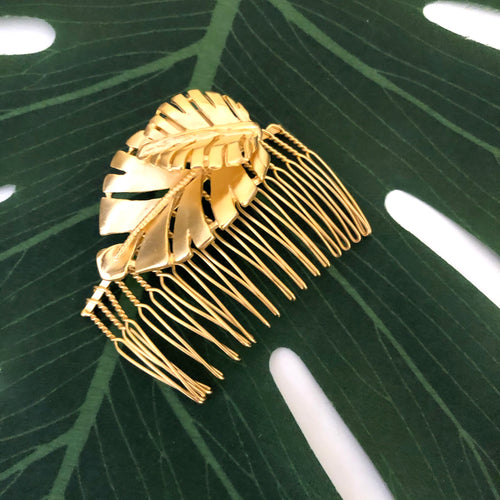 HOJAS LARGE HAIR COMB