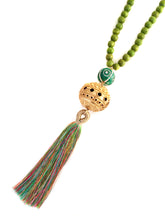 Dia Necklace in Green