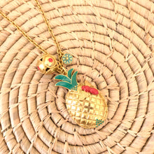 PIÑA CLUSTER NECKLACE