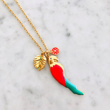 Guacamayo Charm Necklace 32""