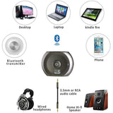Bluetooth Receiver and Transmitter 2-in-1 Wireless Adapter for Audio Source - CMK ELECTRONICS