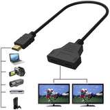 1080P HDMI Port Male to Female Splitter Cable Adapter - CMK ELECTRONICS