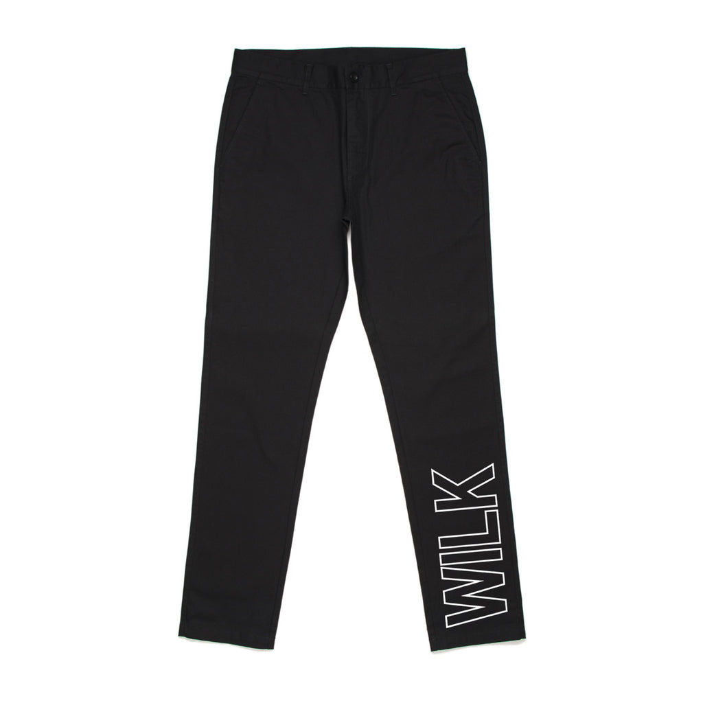 WILK CHINO PANTS // BLACK