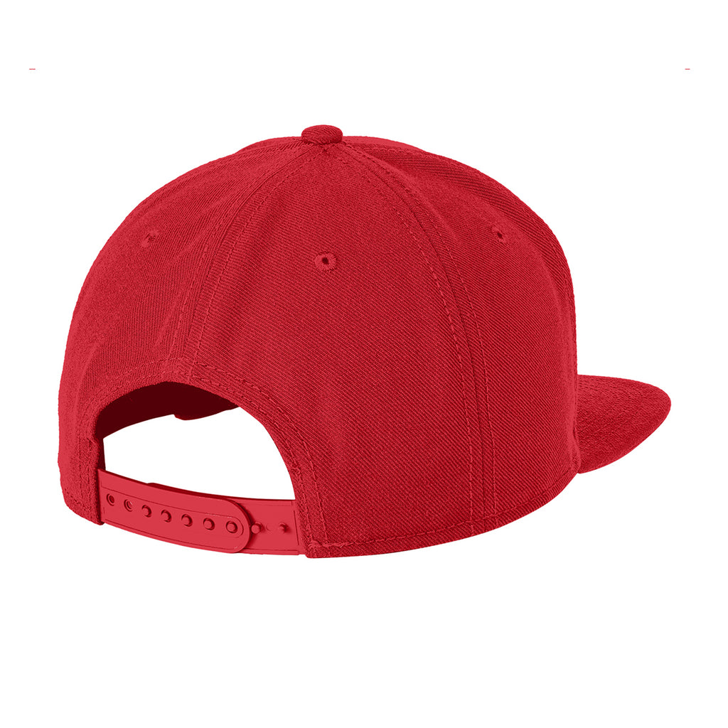 WILK COLLEGE W HAT // RED