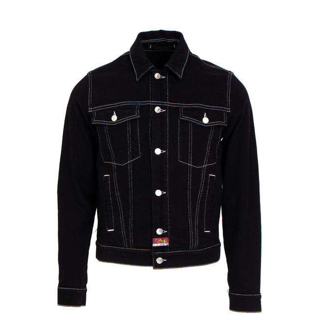 Kenzo Paris Trucker Men's Black Denim Jacket