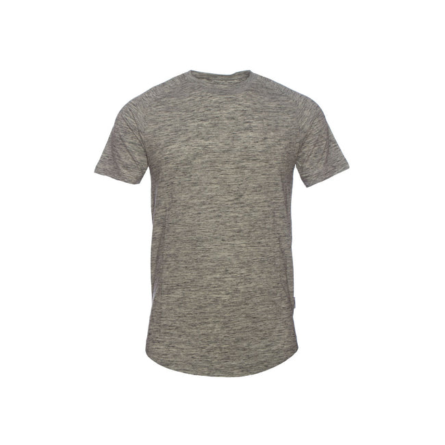 Publish Index S/S Raglan Tee - Heather Grey