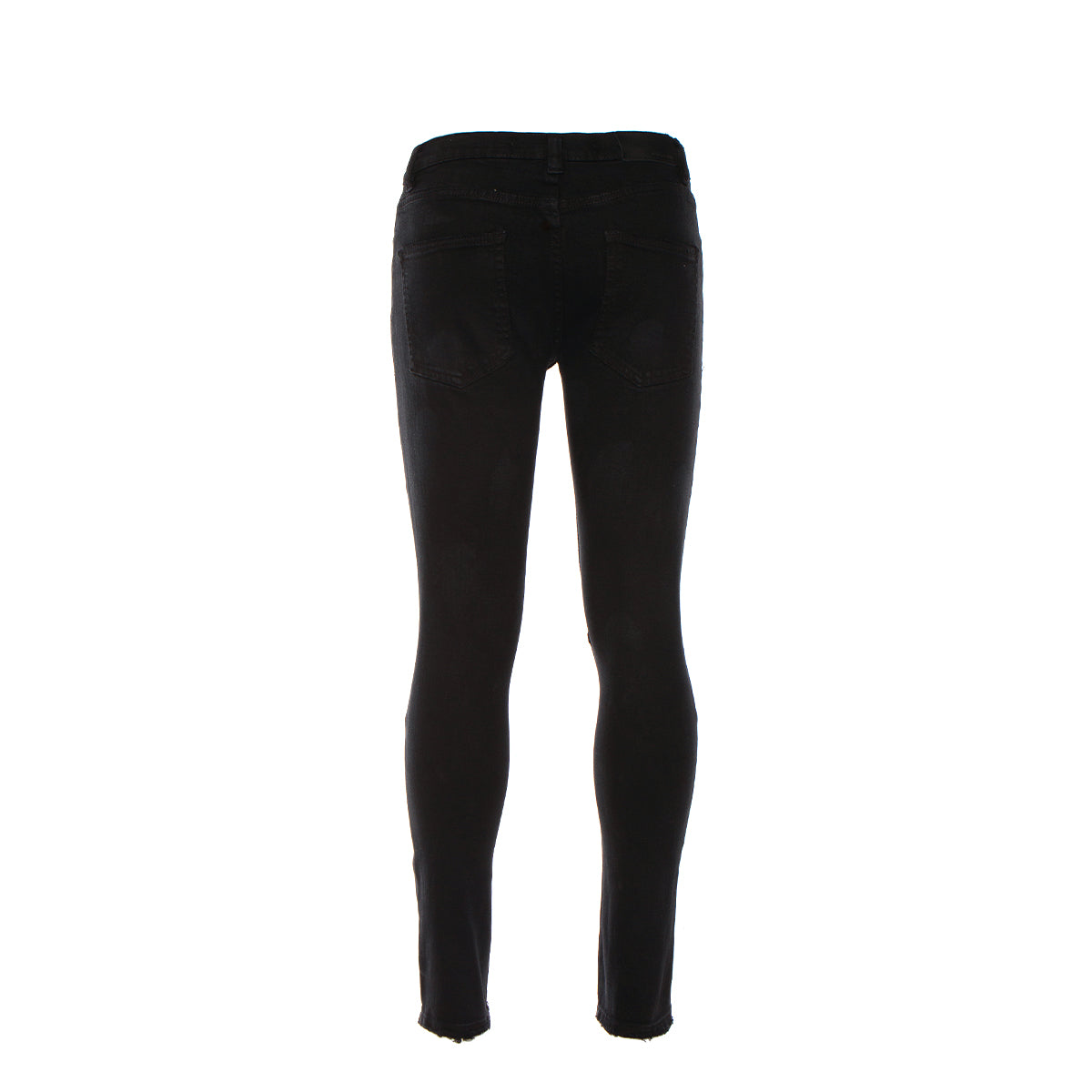 Black Denim Silver Lake Super Skinny Jeans Black