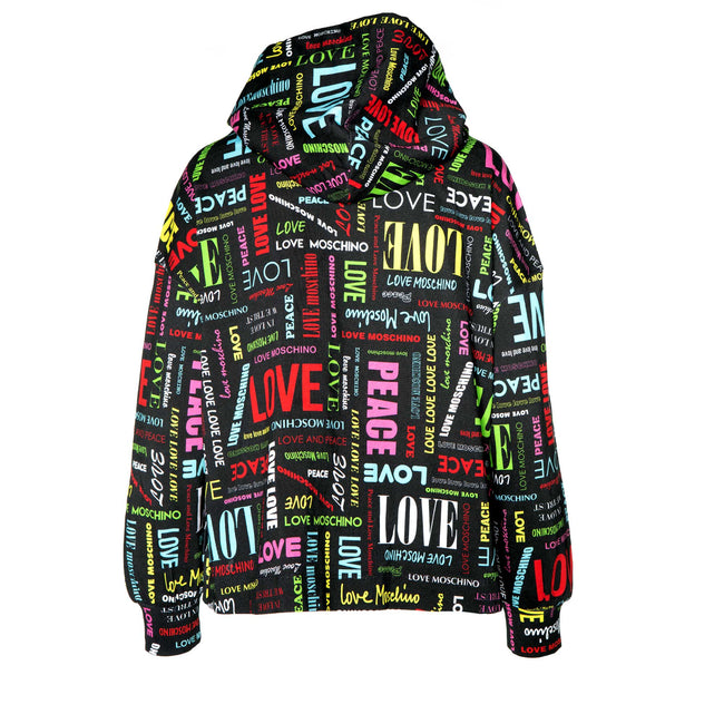 All Over Logo Jersey Jacket
