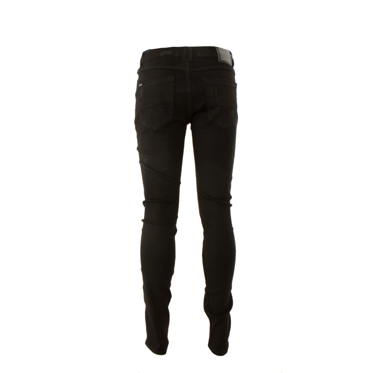Serenede Midnight Black Men's Skinny Jeans