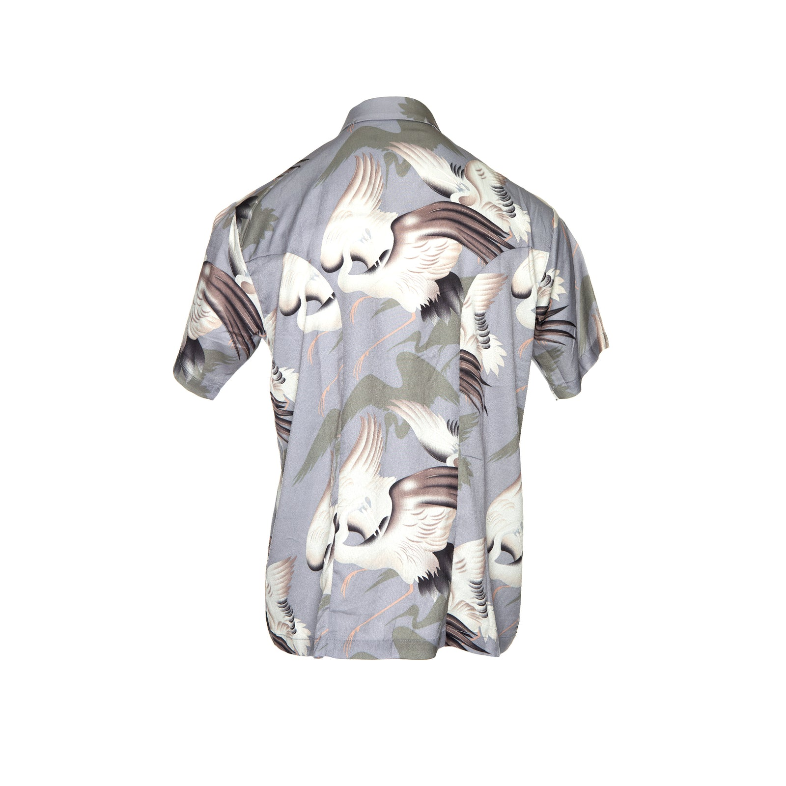 Kollar Resort Shirt - Purple Bird