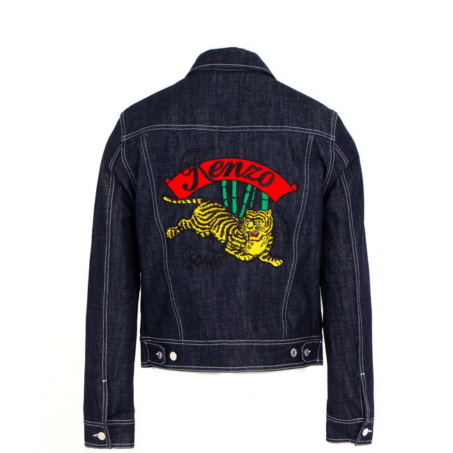 Tiger Trucker Denim Jacket