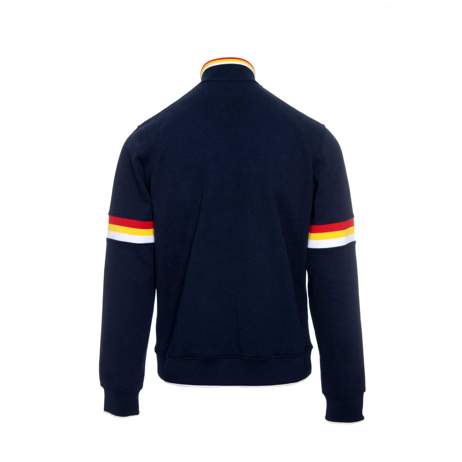 Billionaire Boys Club & Ice Cream Time LS Knit. Half zip sweater in navy.  Style #881-8306