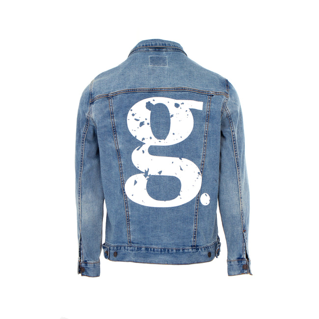 g Logo Trucker Jacket