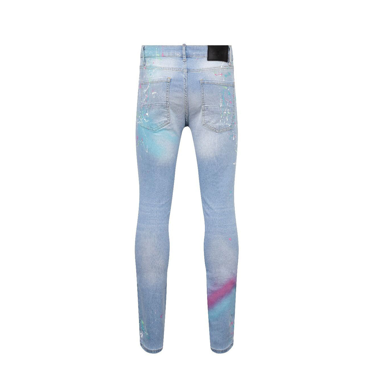 7th Heaven London Ani Paint Sim Fitted Men's Jeans