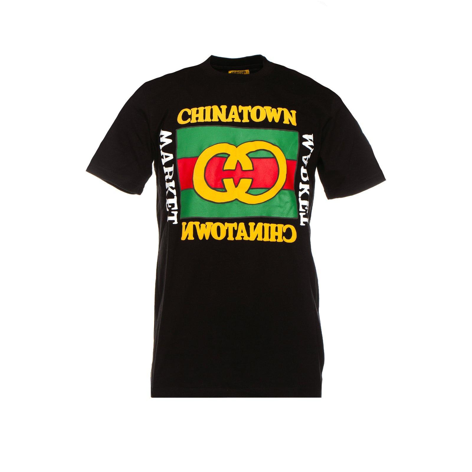 Chinatown Market Puffy Tee Black