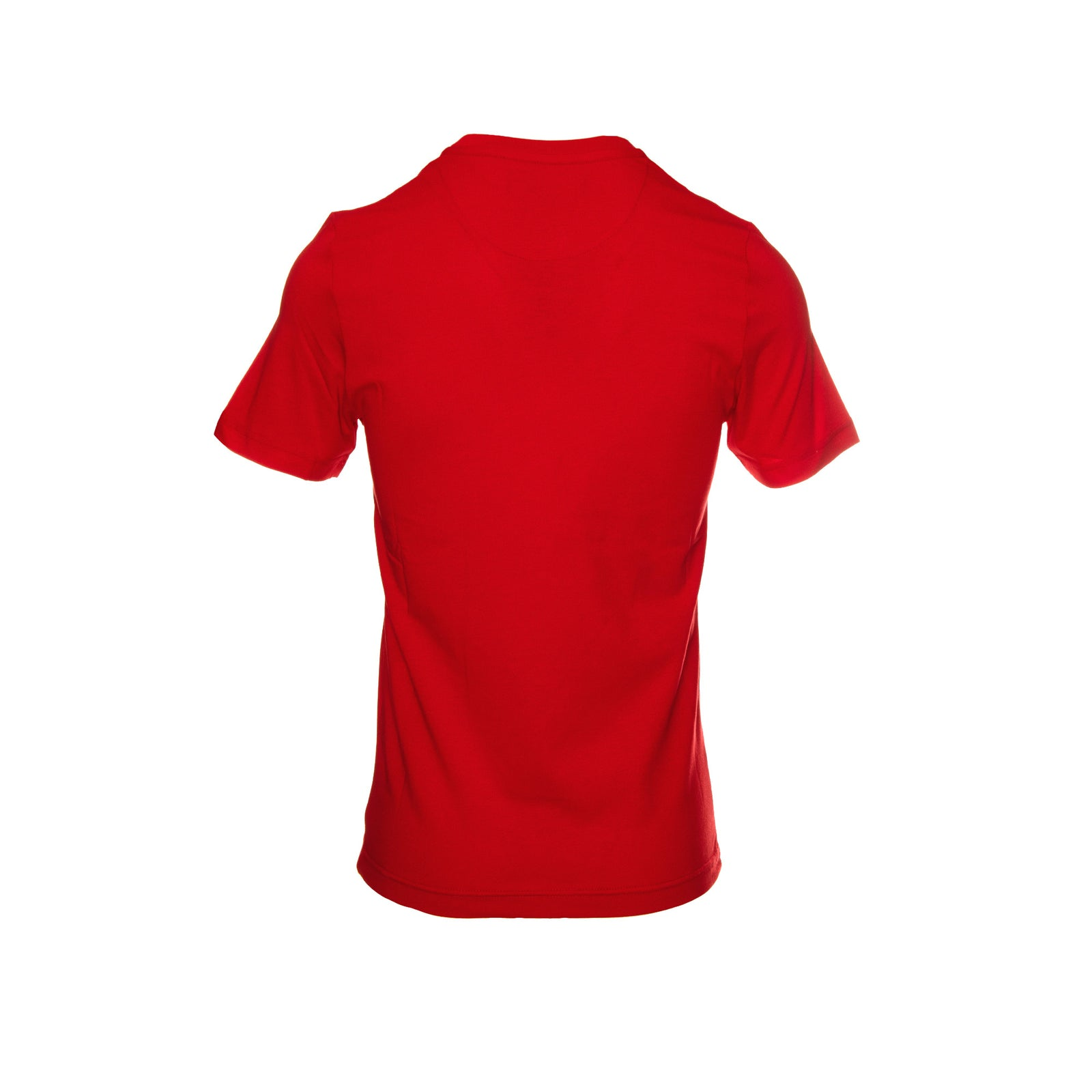 New LOVE Moschino classic men's short sleeve tee in red.