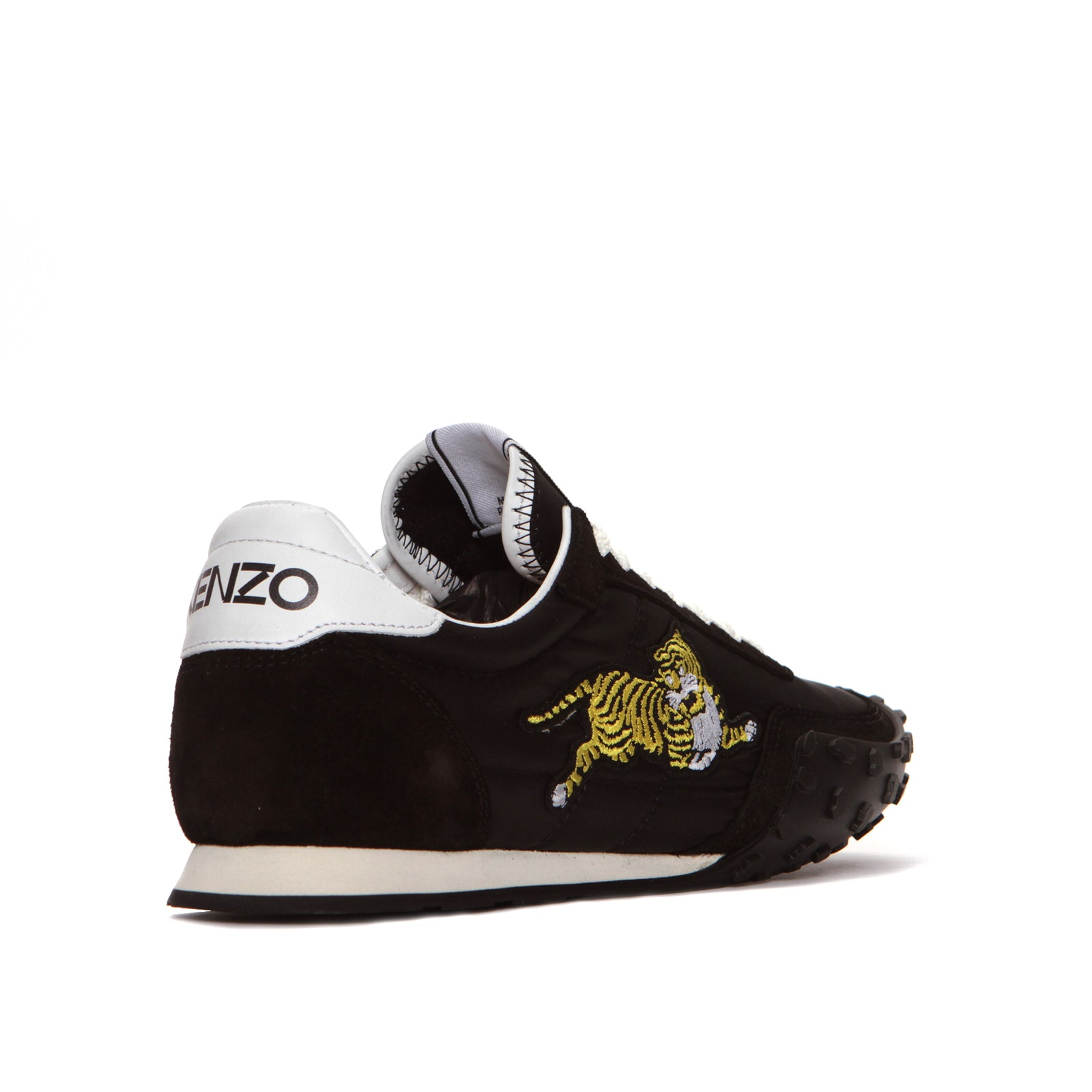 Kenzo Paris Move Lace Up Men's Sneakers Black