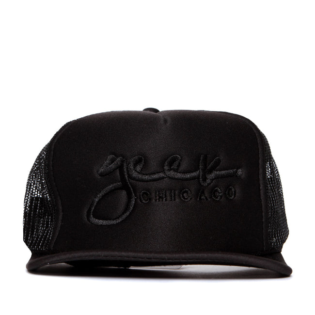 Geek Chicago Trucker Hat