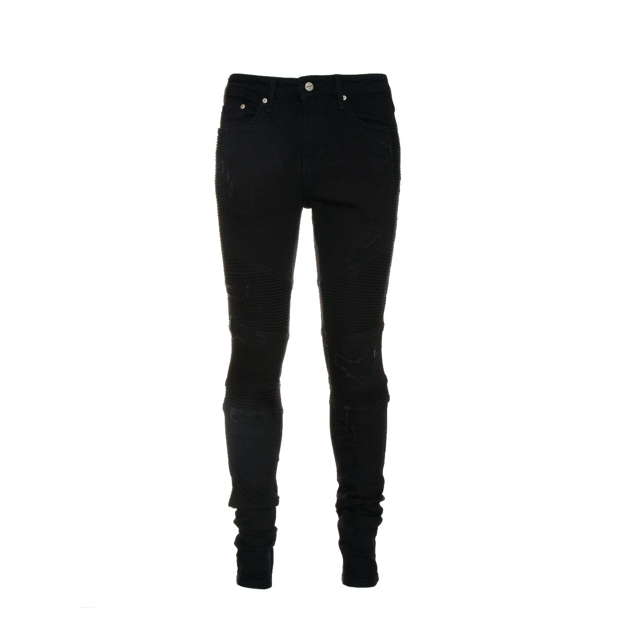 NEW Represent Biker Denim in Black