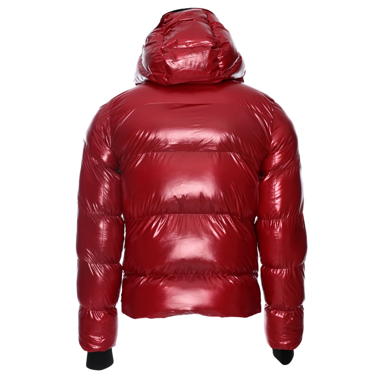 7th Heaven Men's Puffa Jacket Red