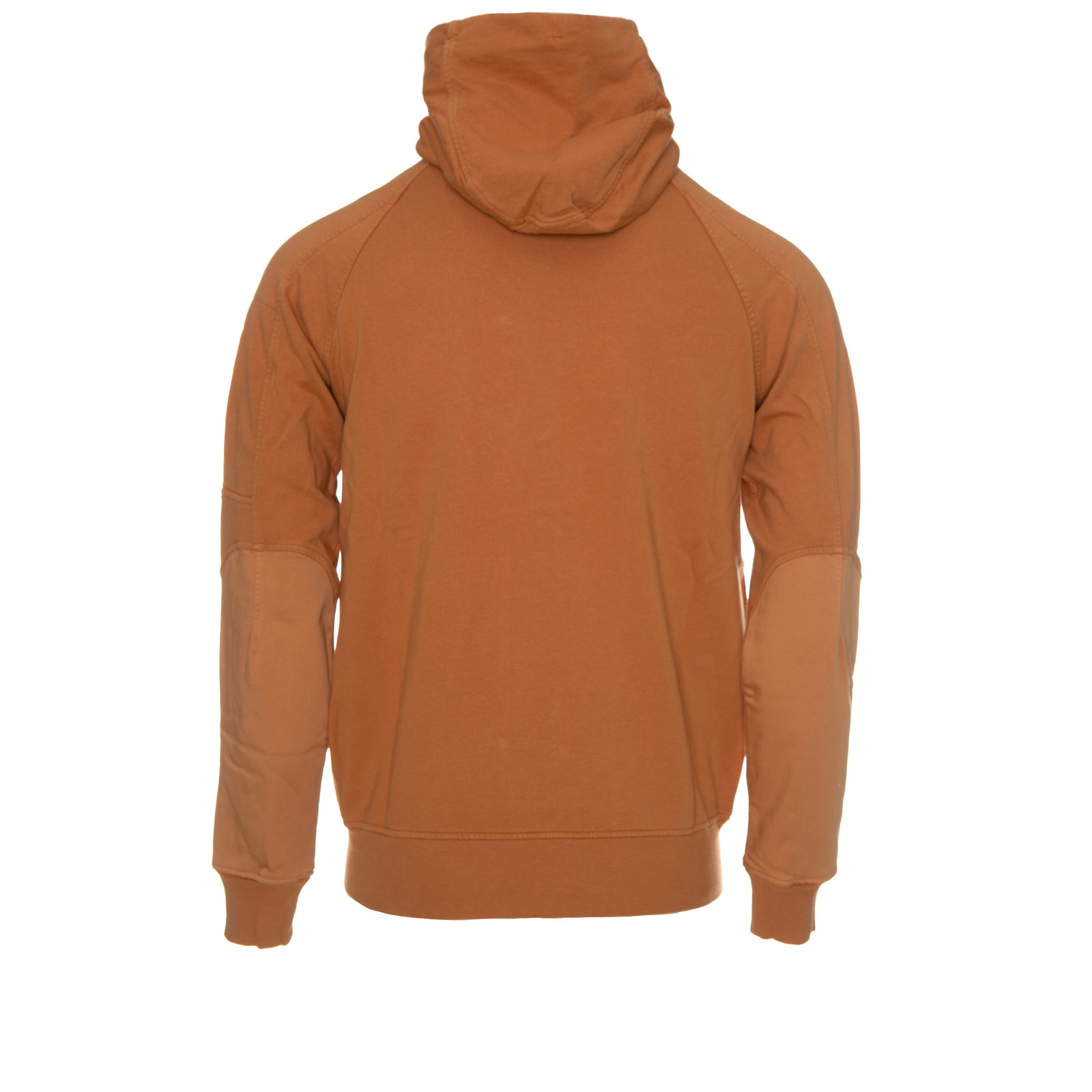 Garment Dyed Open Hoodie