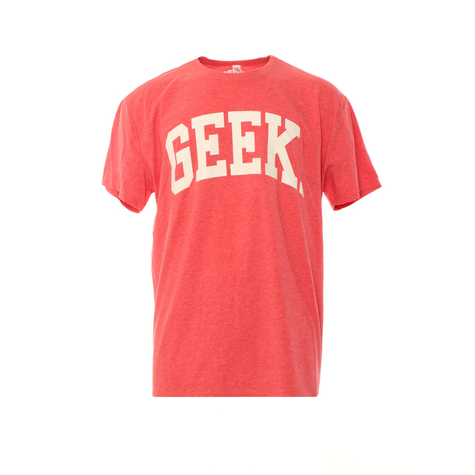 Fashion Geek Collegiate Logo SS Tee Red