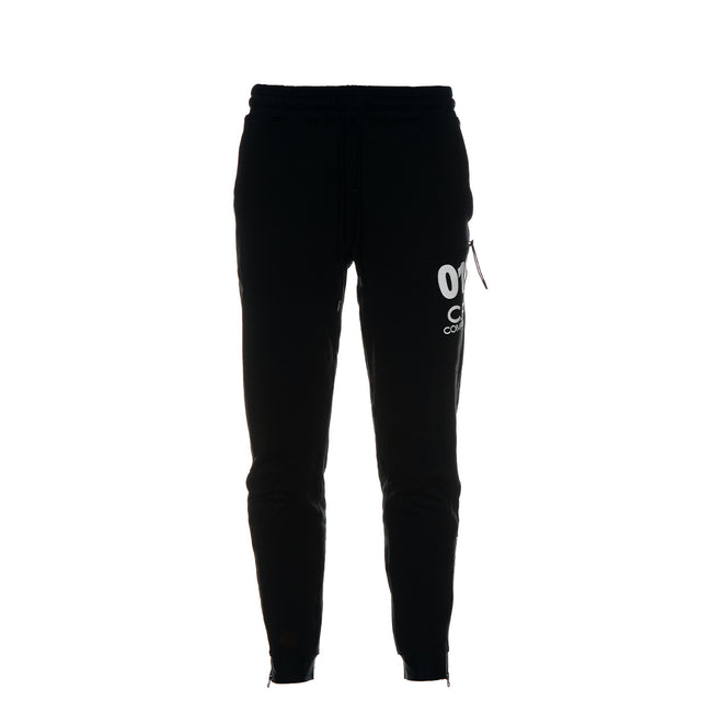 C.P. Company Diagonal Fleece Men's Sweatpants Black