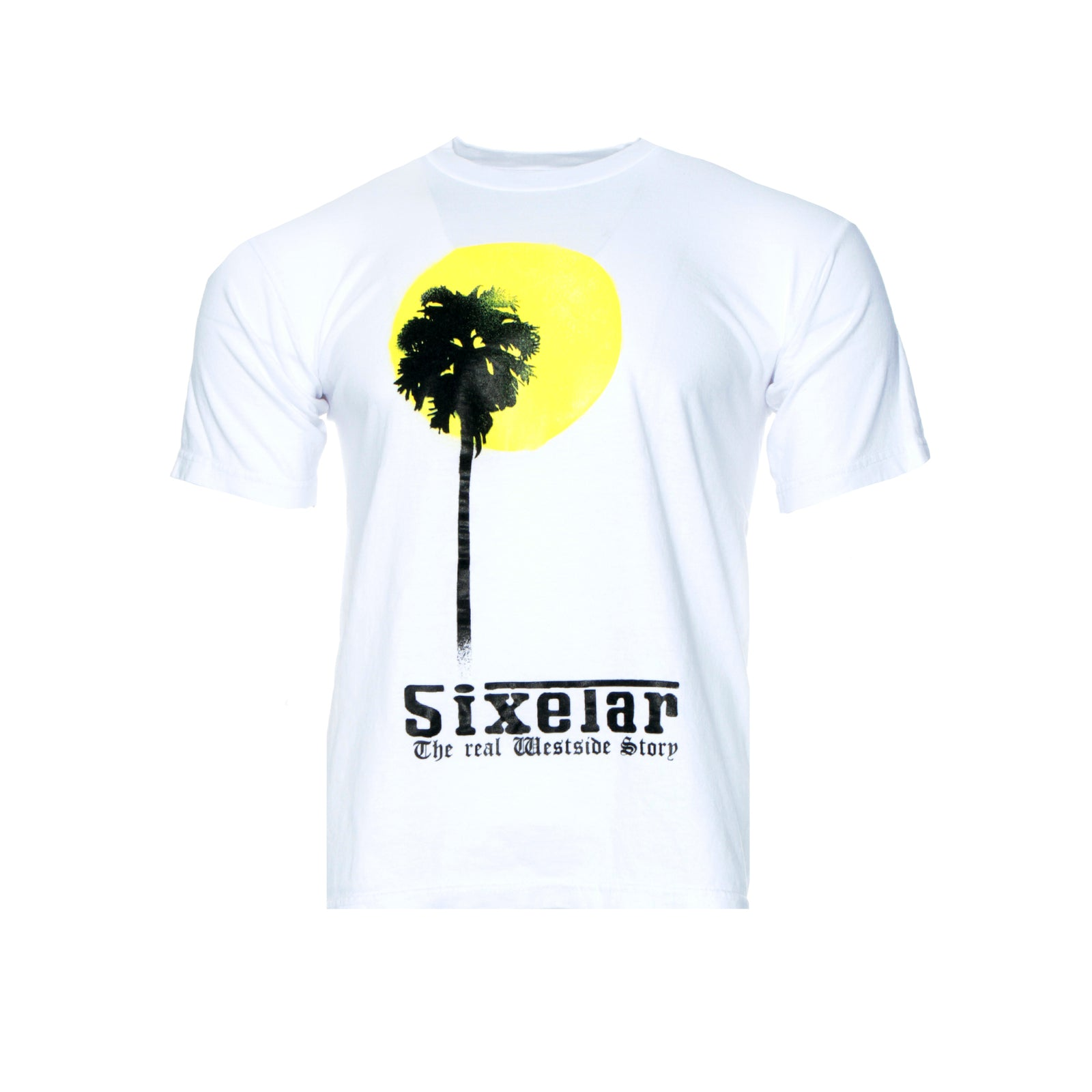 Sixelar Sun White Men's SS Graphic Tee White