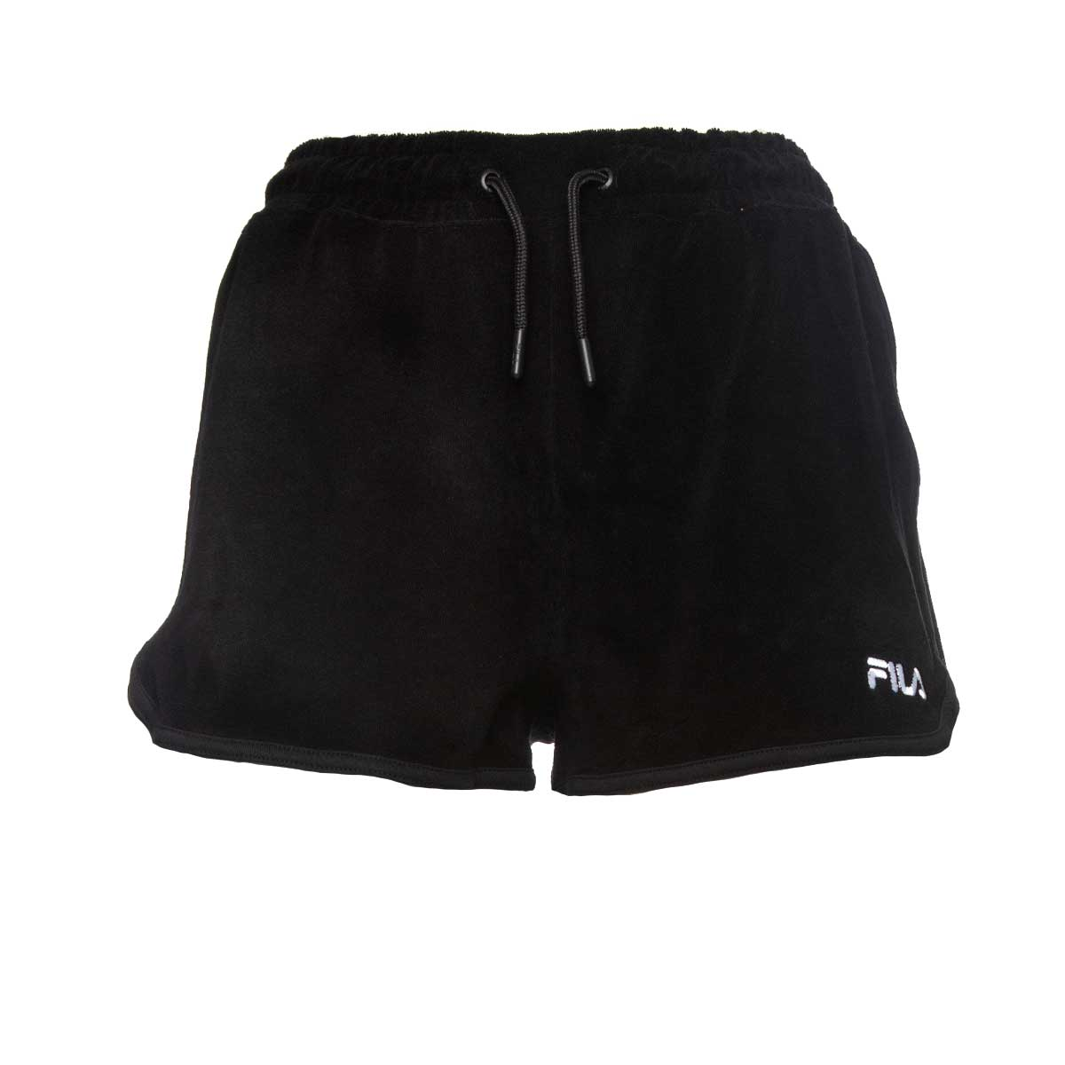 FILA embroiled-logo follie shorts black