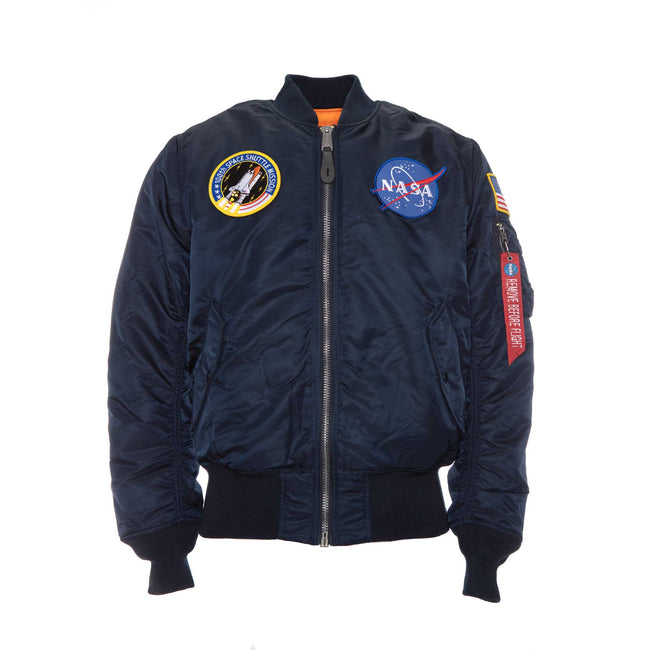 Alpha Industries NASA MA-1 Flight Jacket Blue