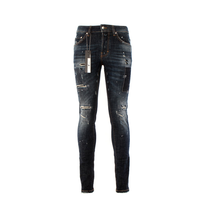 7th Heaven London 4083 7TH HVN Men's Designer Jeans