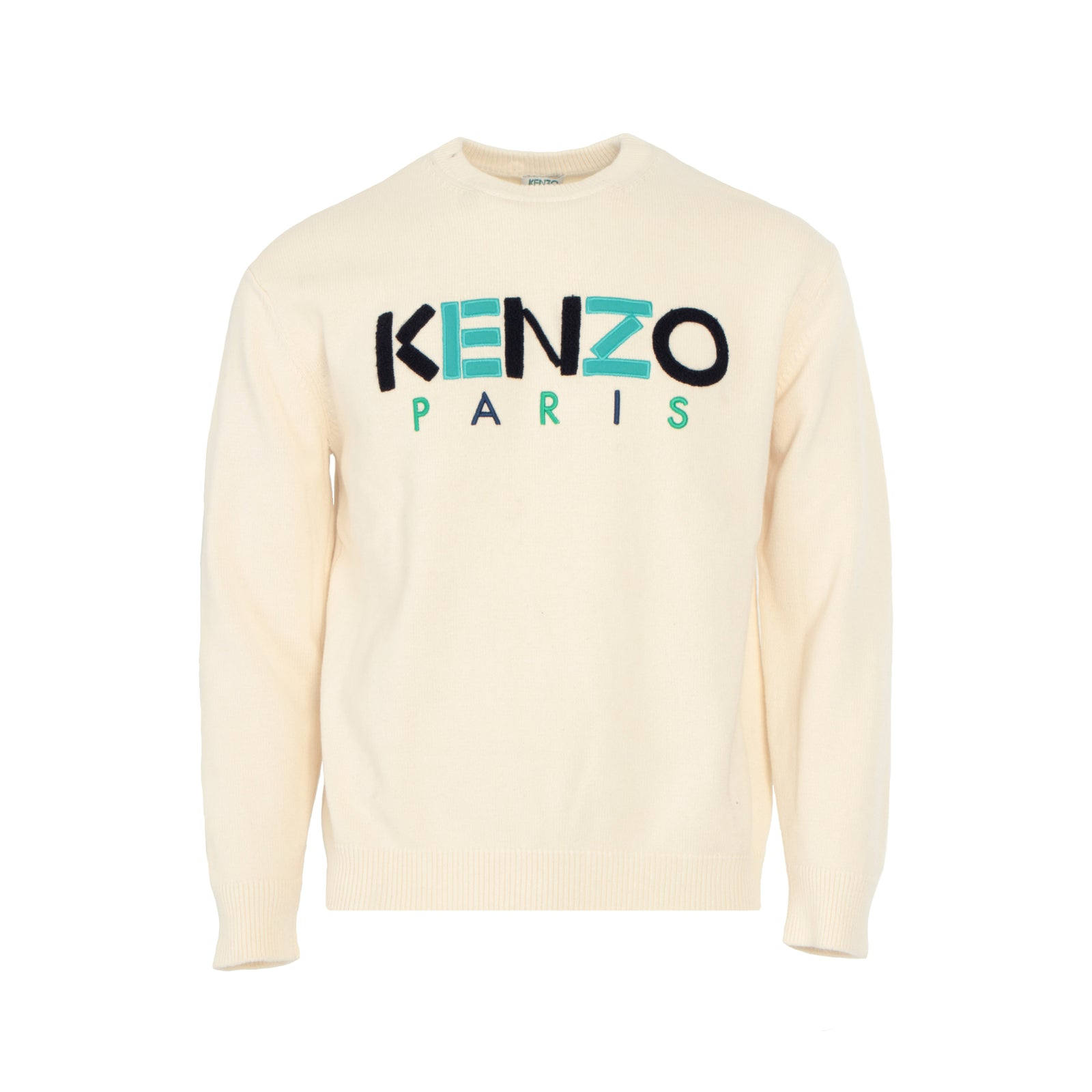 KENZO Paris Wool Men's Beige Jumper