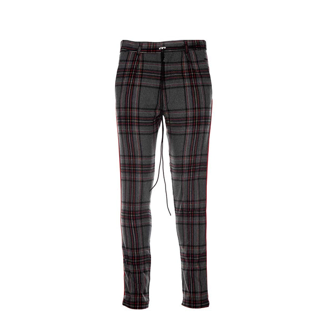 Represent Smoking Pants - Grey Tartan