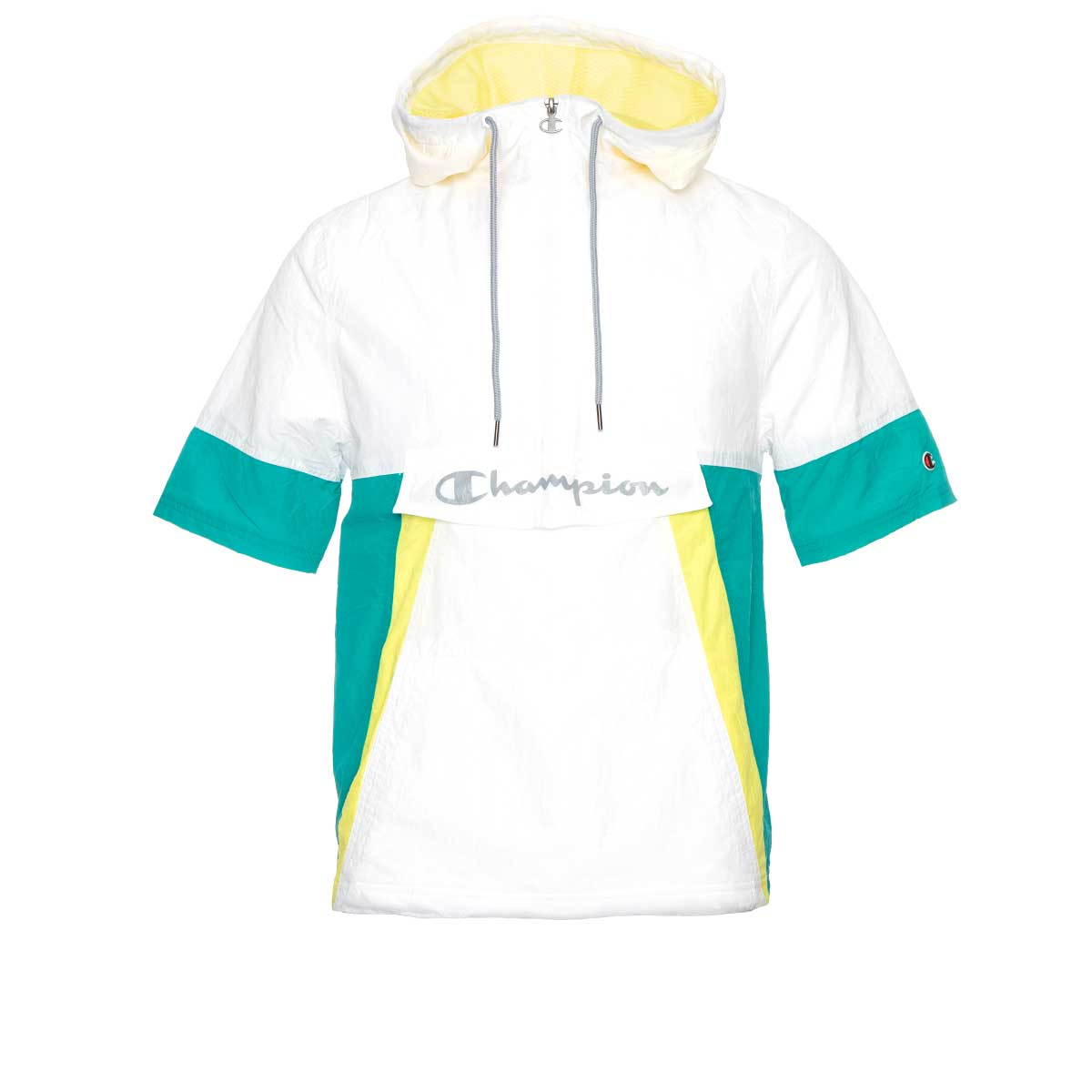 Champion Life Mens Woven Anorak Short Sleeve Jacket