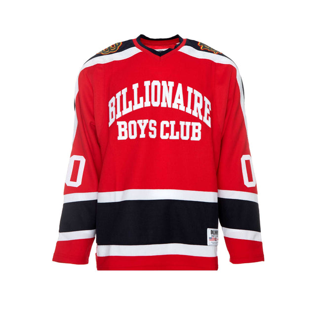 Billionaire Boys Club Don't Give a Puck Men's LS Knit Red