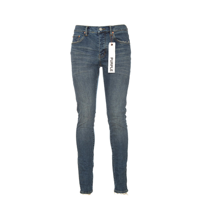 Purple Denim P001 - Mid Blue Wash Slim leg Jeans