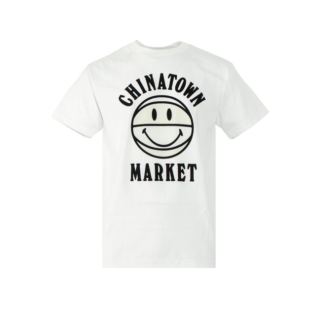 Chinatown Market Smiley Basketball UV Men's Short Sleeve Tee