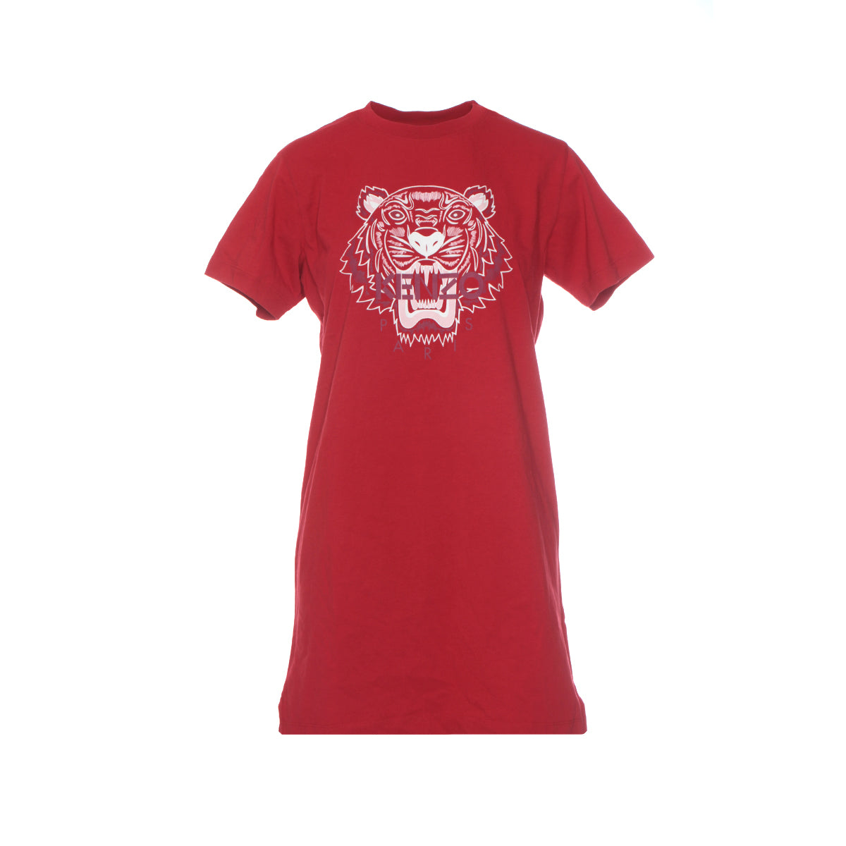Kenzo FW20 T-Shirt Tiger Classic Women's Dress Cherry