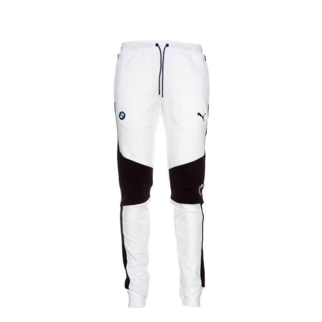 Puma X BMW M Motorsport Men's Slim Fit Sweatpants White