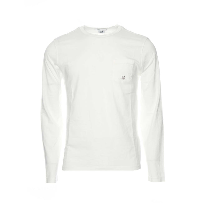 CP Company LS Tee in Jersey Taioca