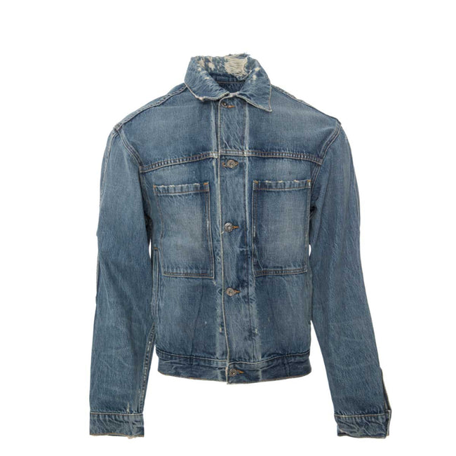 Oversized Jean Jacket 10-YR Selvedge Front MR. COMPLETELY