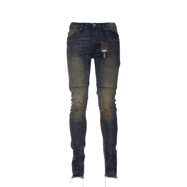 Black Denim Oil Flow Men's Jeans