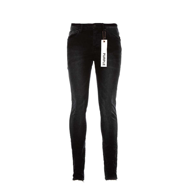 PURPLE P001 Black Wash Jeans