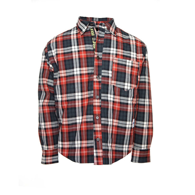 Mr. Completely Fall Winter 2018 Puffy Plaid Work Shirt