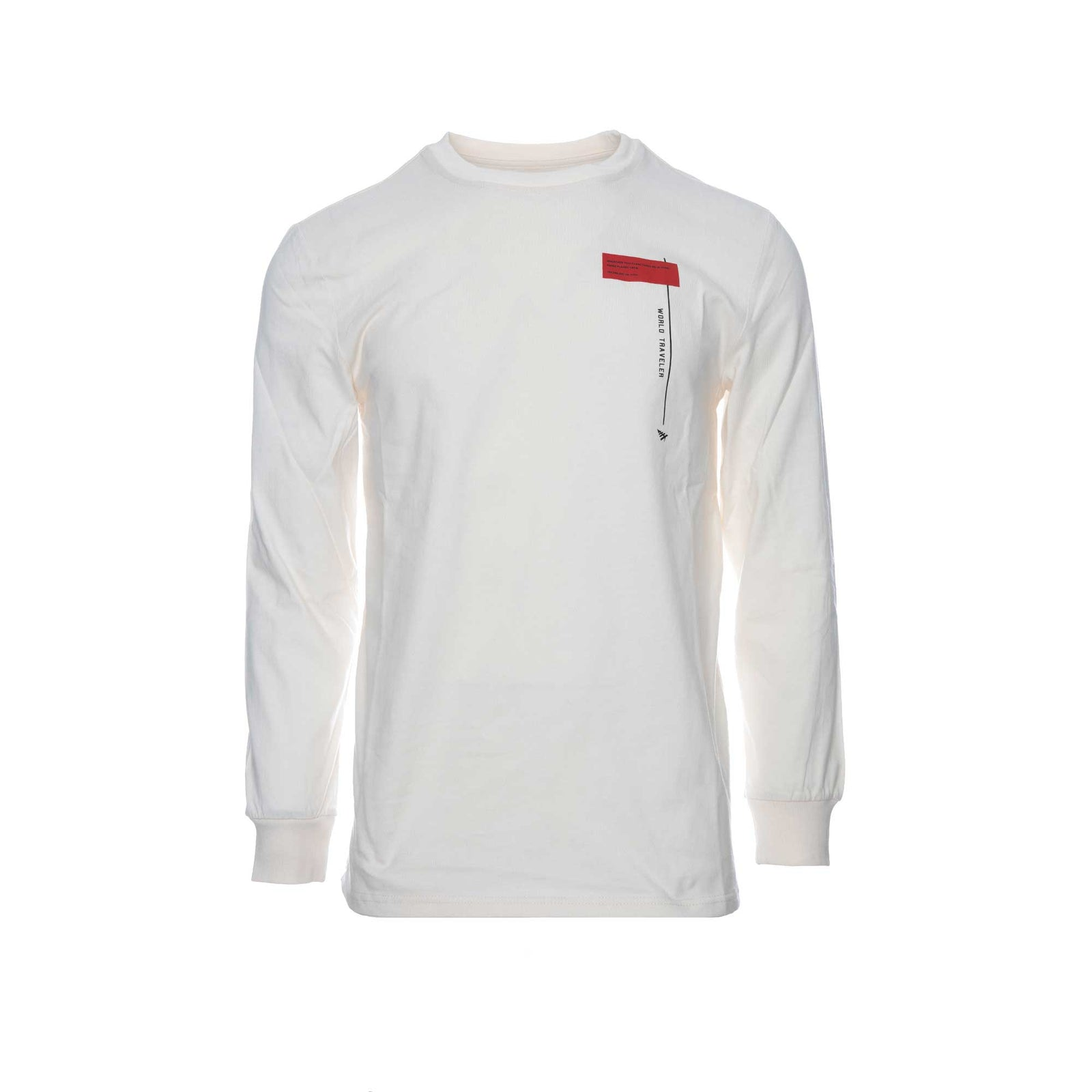 Paper Planes Clothing Home Mens Long Sleeve Tee Sand