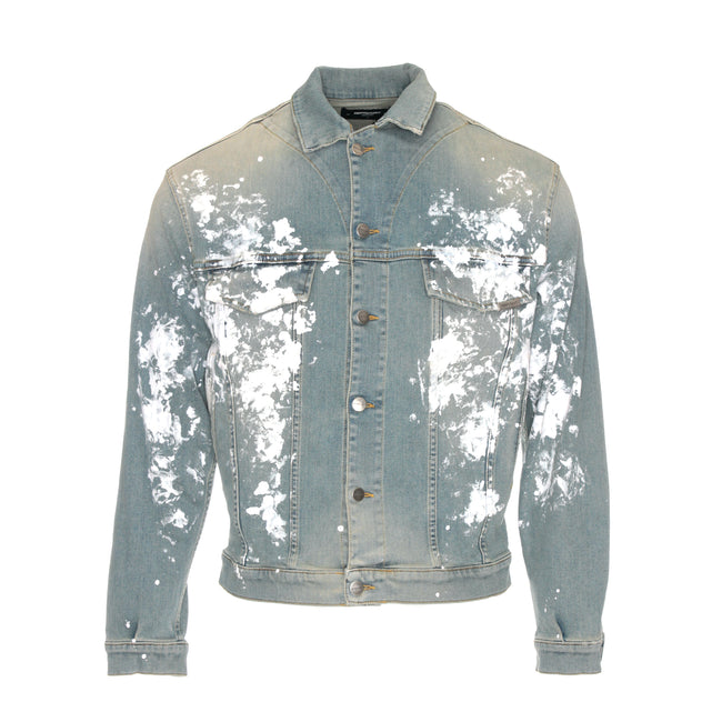 NEW Represent Denim Jacket Painter Pale Blue