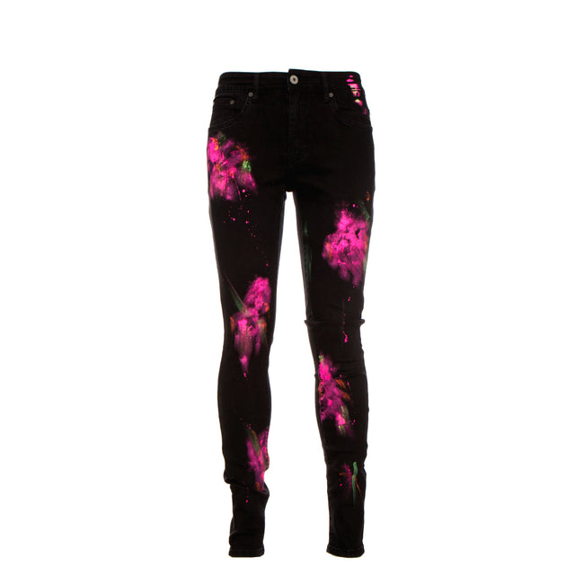 Serenede Eternal Lotus Black Jeans