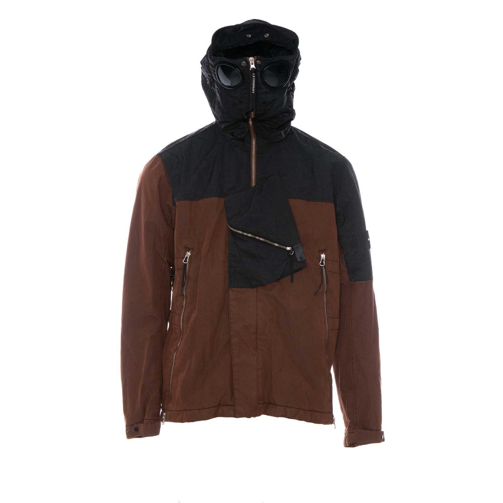 CP Company 50 Fili Rubber GD Goggle Explorer Short Jacket